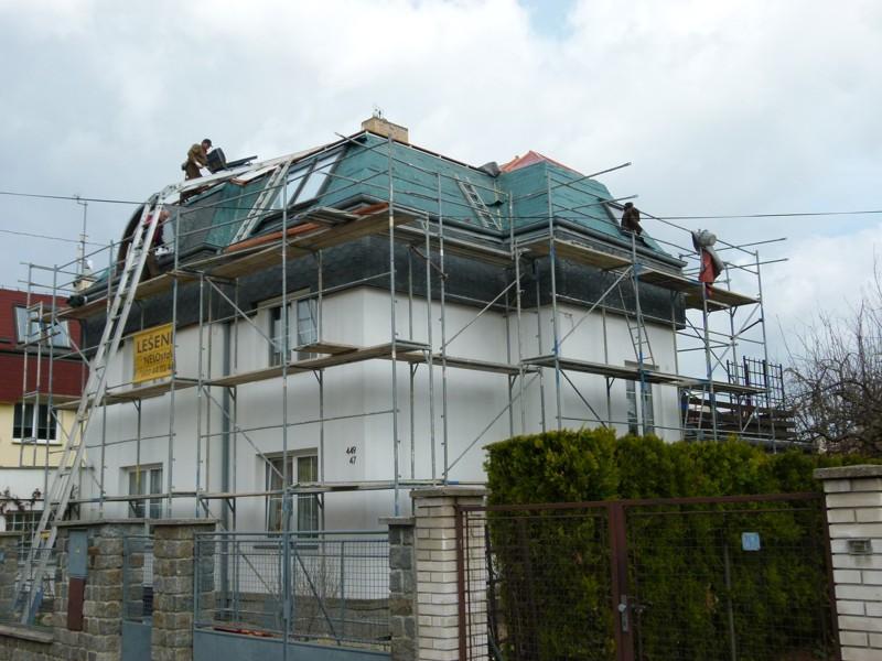 Anesta - rekonstrukce střech a fasád
